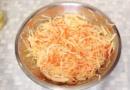 Морковь в салате- 9 вкусных рецептов