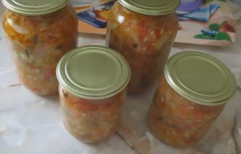 Самый вкусный салат из огурцов Пальчики оближешь на зиму