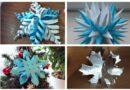 Объемные снежинки из бумаги своими руками на Новый год