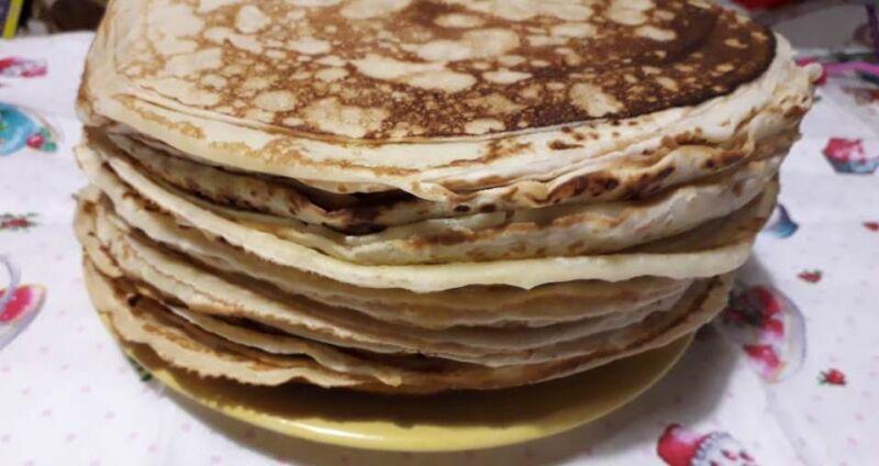 Тонкие блины на молоке с дырочками — рецепты вкусных ажурных блинов