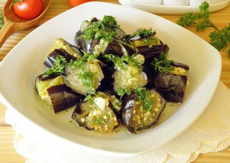 салат на зиму баклажаны как грибы рецепт